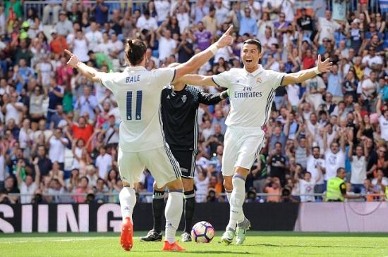 Gareth Bale tỏa sáng ở trận trung kết Champions League cùng với Ronaldo