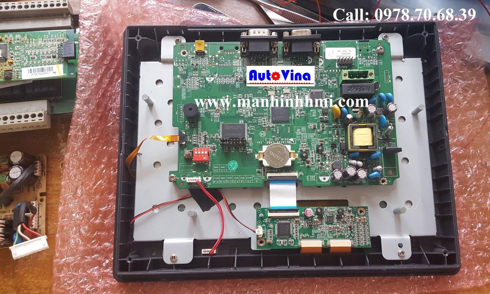 Sửa chữa màn hình Weinview TK6102i lỗi không hiển thị LCD, mất cảm ứng