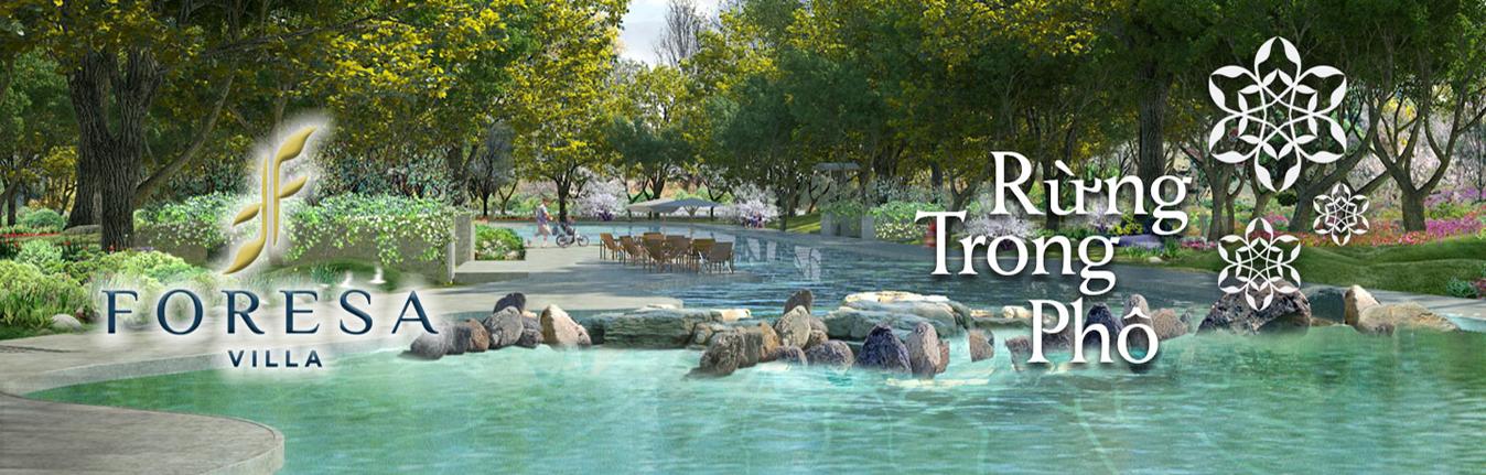 Hình ảnh tiện ích Công viên cây xanh và hồ điều hòa KĐT Xuân Phương Tasco - Foresa Villa