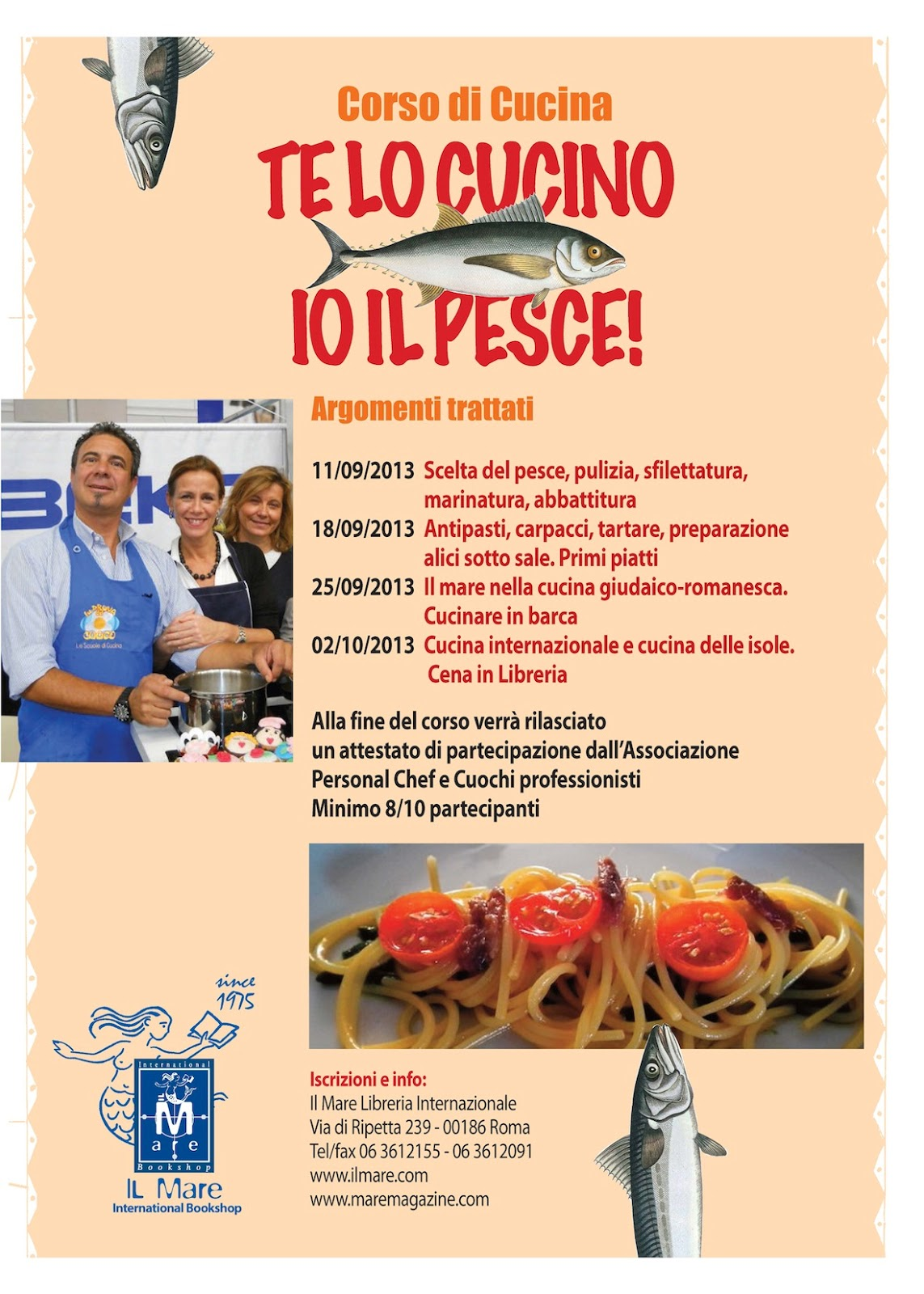 Libreria internazionale il mare agosto 2013 for Cucina giudaico romanesca