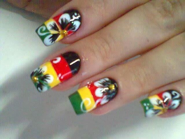unhas reggae