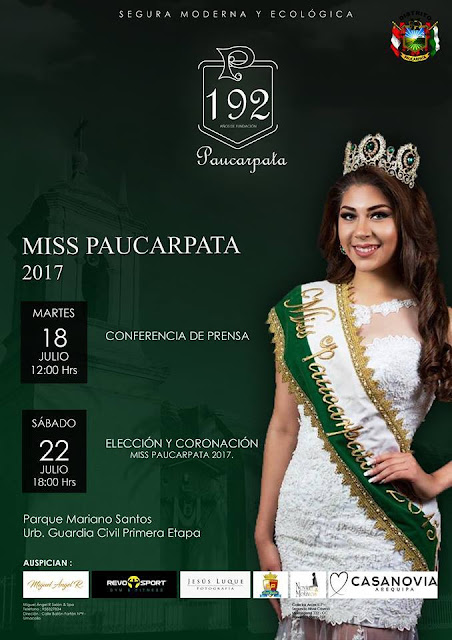 Miss Paucarpata 2017