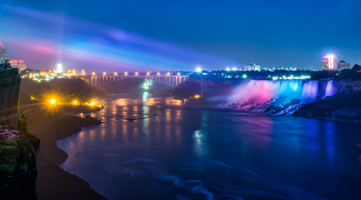 Niagara Falls Blue International M.E Awareness Day