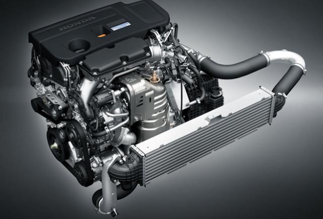 2018 Honda Avancier Powertrain