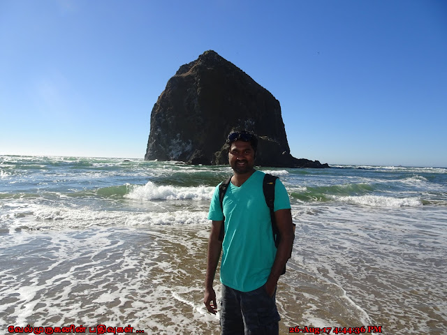 Cannon Beach Haystack Rock Oregon