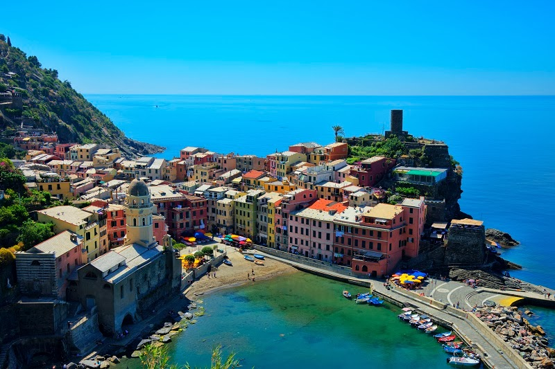 Riomaggiore - First Village of the Five of the Cinque Terre, Italy
