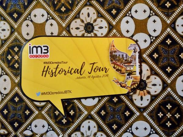 Akhir Pekan Bersama IM3 OOREDOO JBTK Dalam Historical Tour !
