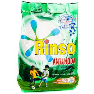 Pembuat Rinso (diterjen) Pertama