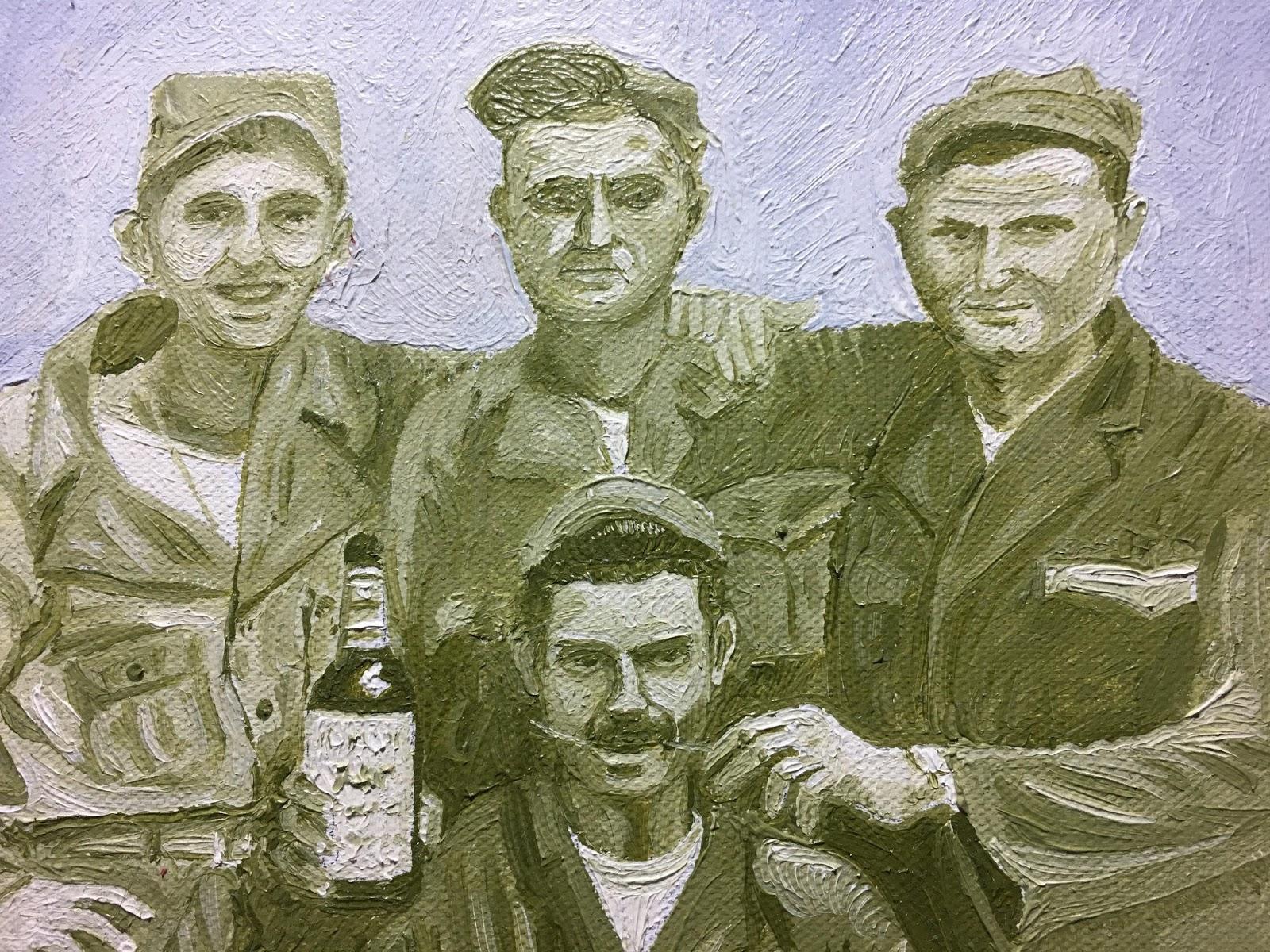 http://www.alanmizell.com/2017/03/uncle-joe-dash-korea-1952-oil-on-canvas.html