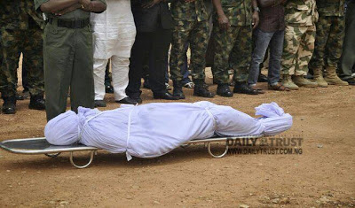Armed force colonel who was murdered by abductors gets buried