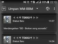 Download WM-BBM MOD Apk Base Versi 3.2.5.12 Terbaru 2017