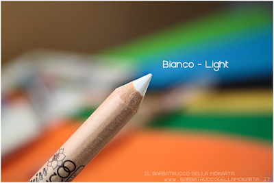 bianco recensione LIGHT DARK review Miss trucco matite Your Color eyes