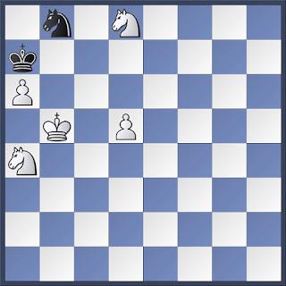 Problema de ajedrez retrógrado de José  A. López Parcerisa, Inédito - 2016, MATE EN 2 (7 + 5)