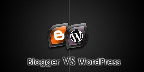 Pilih Blogspot Atau Wordpress