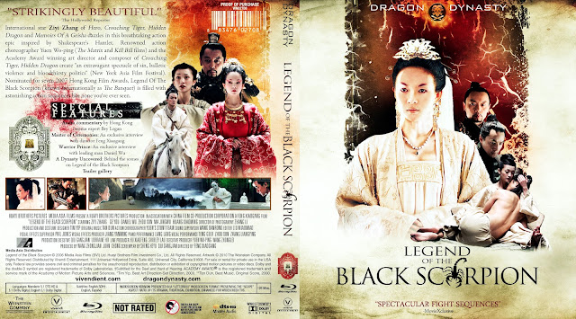 The Legend Of The Black Scorpion Bluray Cover