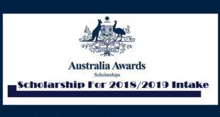Australia Masters Scholarships Award