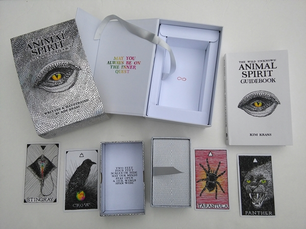 Oracle Deck Review: The Wild Unknown Animal Spirit Deck and