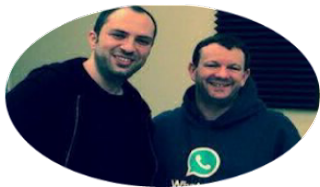 Whatsapp Brian Acton and Jan Koum
