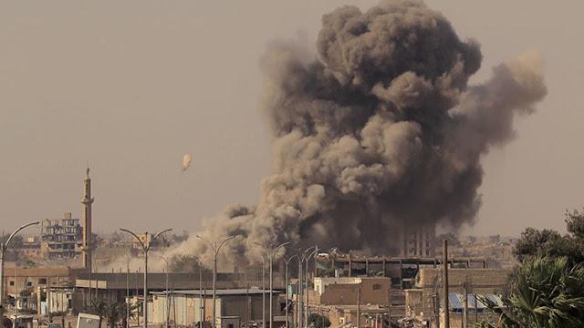 Bombardeo de la coalición de EEUU y Europa en Siria mata a 17 niños y mujeres