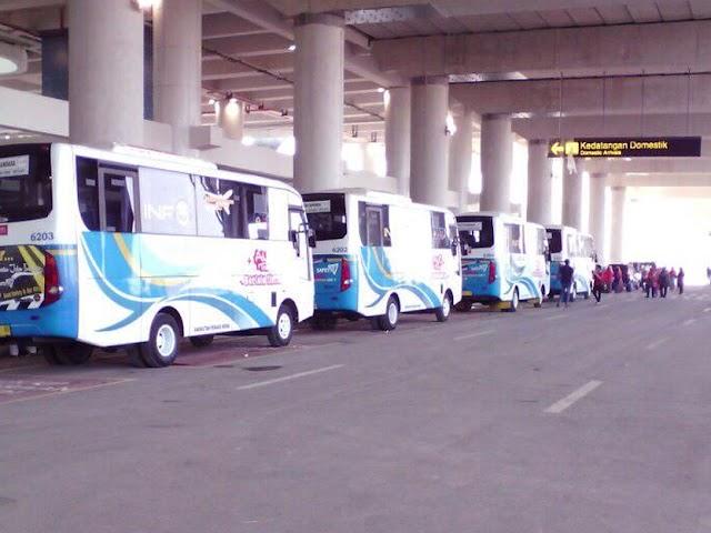 Pool, Rute, dan Tarif Bus DAMRI ke Bandara Kertajati