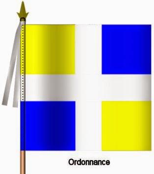 Artois Infanterie Ordonnance Flag
