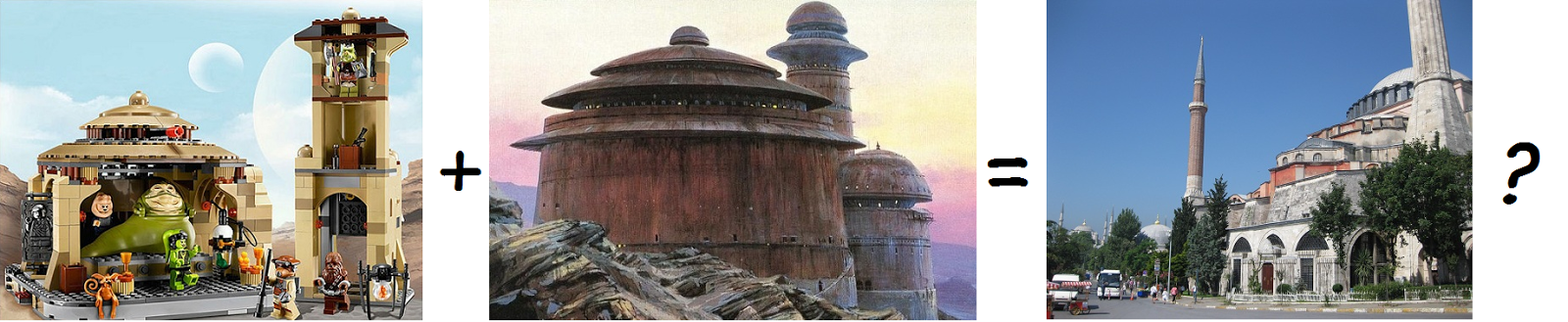 Top 10: The architecture of Star Wars   Aya+Sofya+Jabba+Lego+offensive