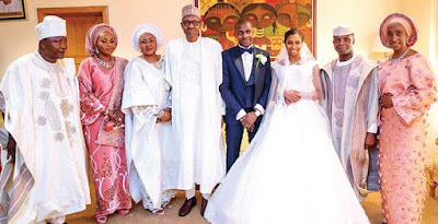 Buhari, Governors Attend Osinbajo Daughter's Wedding In Abuja