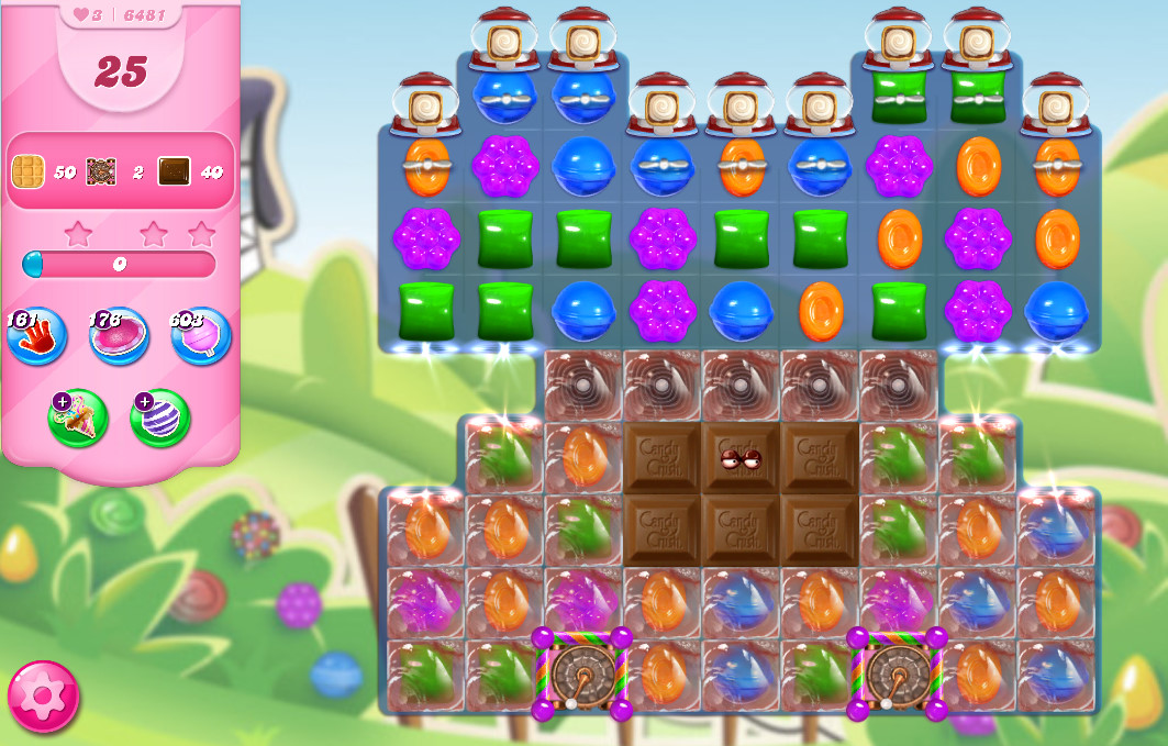 Candy Crush Saga level 6481
