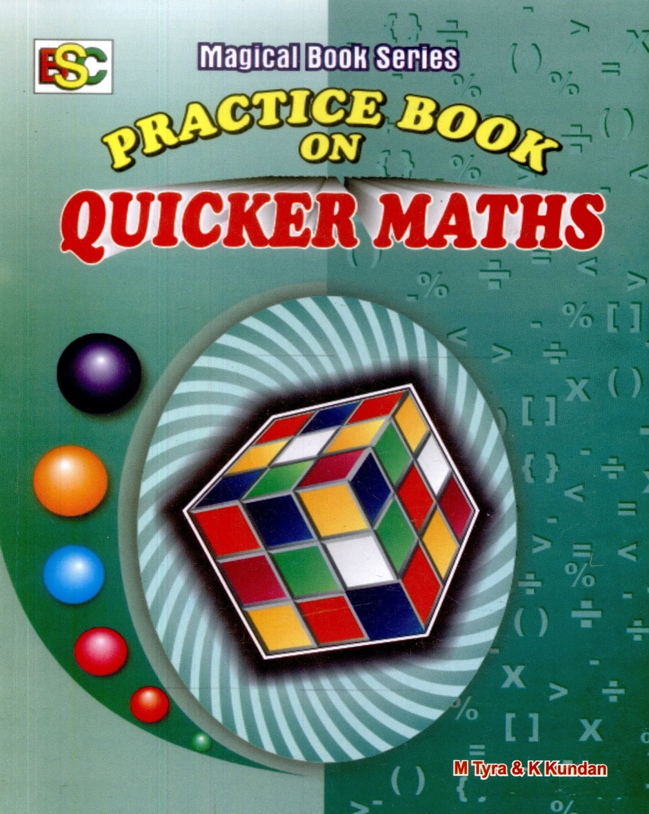 Free Download PDF of Quicker Maths By M.Tyra : Magical Book Series ~ .