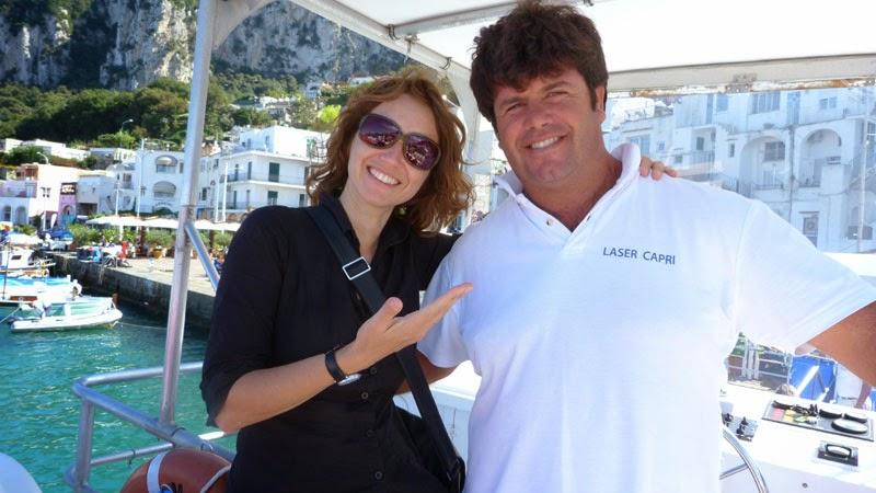 Capri com guia em portugues