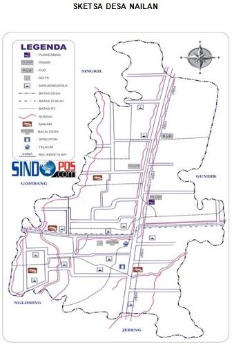 Profil Desa & Kelurahan, Desa Nailan Kecamatan Slahung Kabupaten Ponorogo