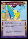 My Little Pony Lead Pony Badge Premiere CCG Card