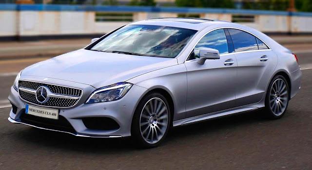 Mercedes CLS 400 2018 sở hữu kích thước tổng thể lớn