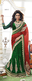 Green Indian Designer Heavy Velvet Lehenga