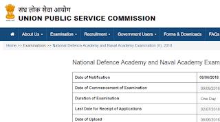 UPSC NDA NA (II) Exam 2018 | Marks of Recommended Candidates