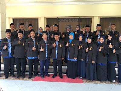 Walikota Berangkatkan 13 Kafilah MTQ Korpri Jatim