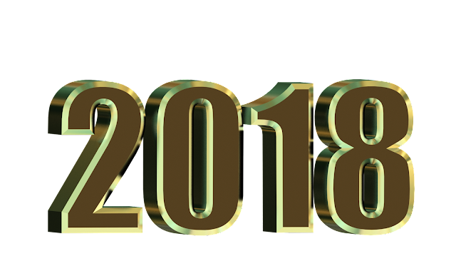 Happy New Year 2018 3d hd scrap for Fb