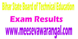 Bihar State Board of Technical Education Look-up I/II/IV/VI Sem 2016 Exam Results
