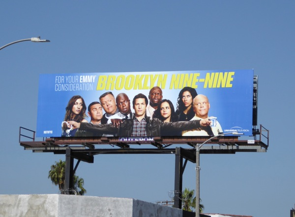 Brooklyn Nine-Nine 2016 Emmy consideration billboard