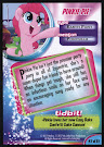 My Little Pony Pinkie Pie MLP the Movie Trading Card