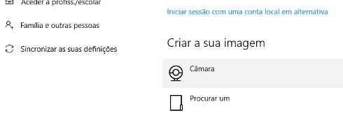 Como mudar a foto do Windows 10