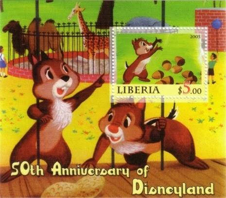 我的迪士尼郵票 My Disney Stamp: 鋼牙與大鼻
