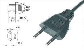 Stecker tanpa kabel ground