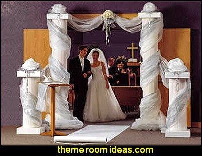 Wedding Columns Wedding Decorations  Wedding decorations - bridal bouquets  - wedding themes - wedding decorating props - wedding supplies - wedding dress for bride - favor boxes - bridal veils -