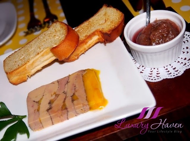 taratata bistrot christmas menu features duck terrine