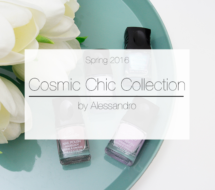 #ManiMonday: Alessandro Spring 2016 «Cosmic Chic» Collection