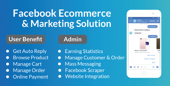 Facebook E-Commerce and Marketing Solution Nulled