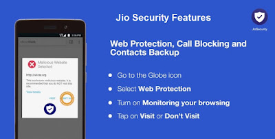 Jio security pc features