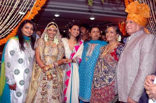 rani mukherjee marriage pictures