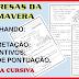 A PRIMAVERA TRAZ BELAS SURPRESAS! INTERDISCIPLINAR - 2º ANO/ 3º ANO